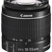 Canon EF-S 18-55mm 1:3.5-5.6 IS II Universalzoom-Objektiv (58mm Filtergewinde, bildstabilisiert)