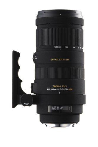 Sigma 120-400mm F4,5-5,6 DG OS HSM-Objektiv