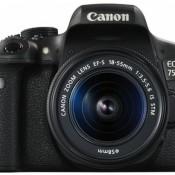 Canon EOS 750D Kamera mit Objektiv 18-55 IS STM